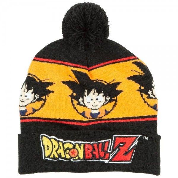 6cc240a80de Dragon Ball Z Beanie - Goku Pom Cuff  Archonia US