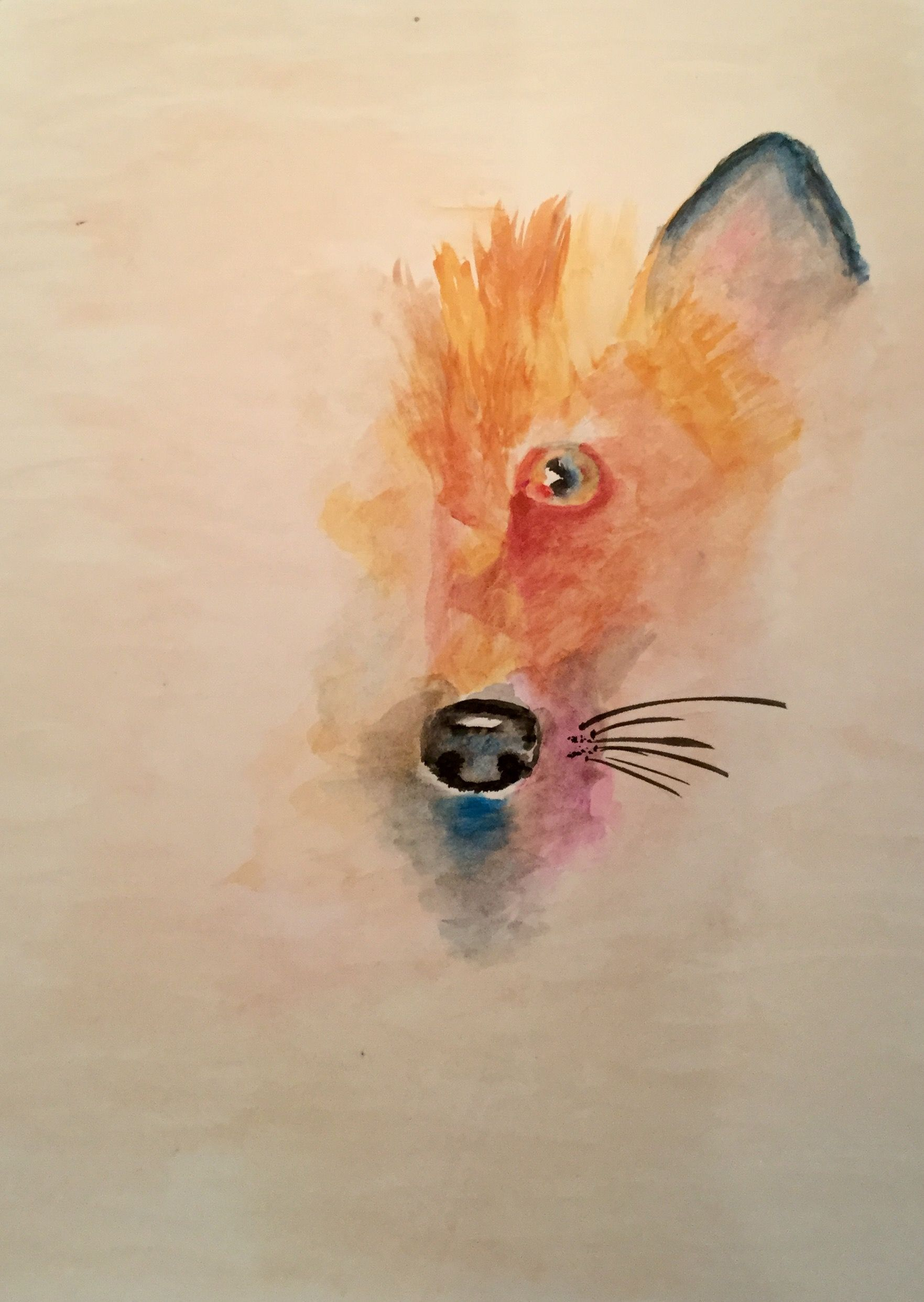 Fox inspired by Louise Romero. Hers is much better of course!