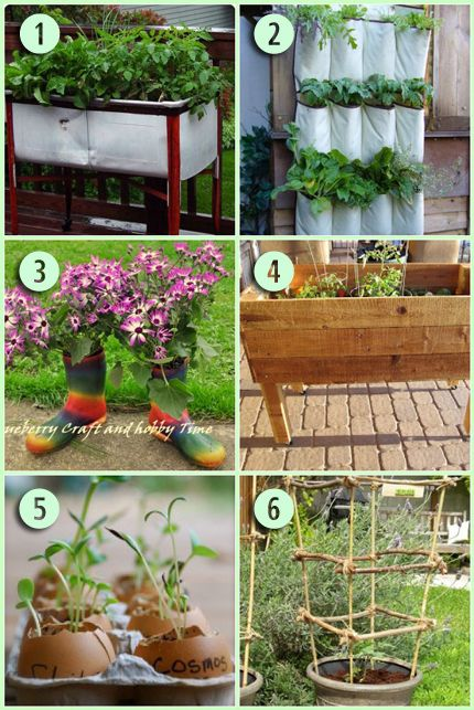 6 Creative Gardening Projects | Garden ideas, Gardens and Creative