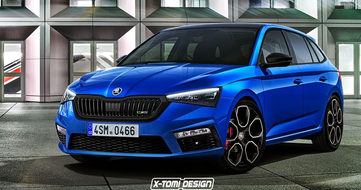 Skoda S Fictional Rival To The Golf Gti Deserves To Be Built We