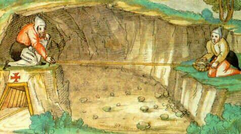 Bildergebnis für Geologe im mittelalter