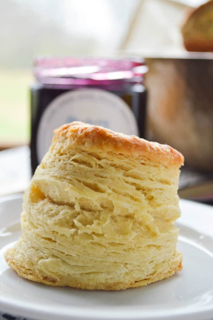 The Biggest, Fattest, Fluffiest All Butter Biscuits - Sugar Dish Me