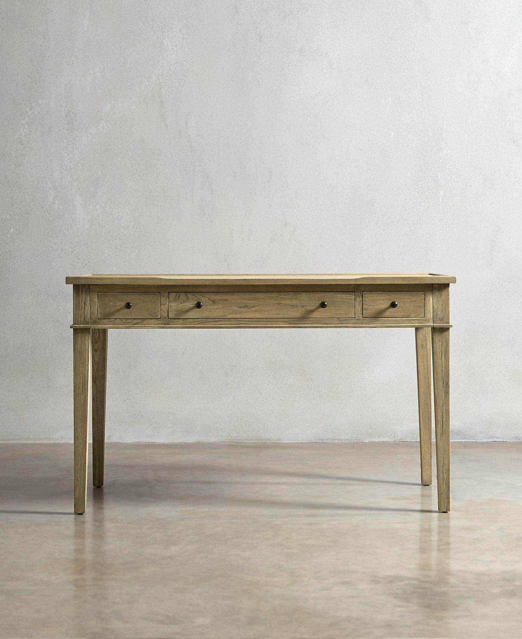 The HEMINGWAY Desk - Solid Oak - swooneditions.com   small home ...