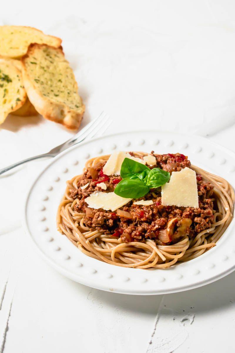Turkey Spaghetti Bolognese | Recipe | Turkey mince recipes ...