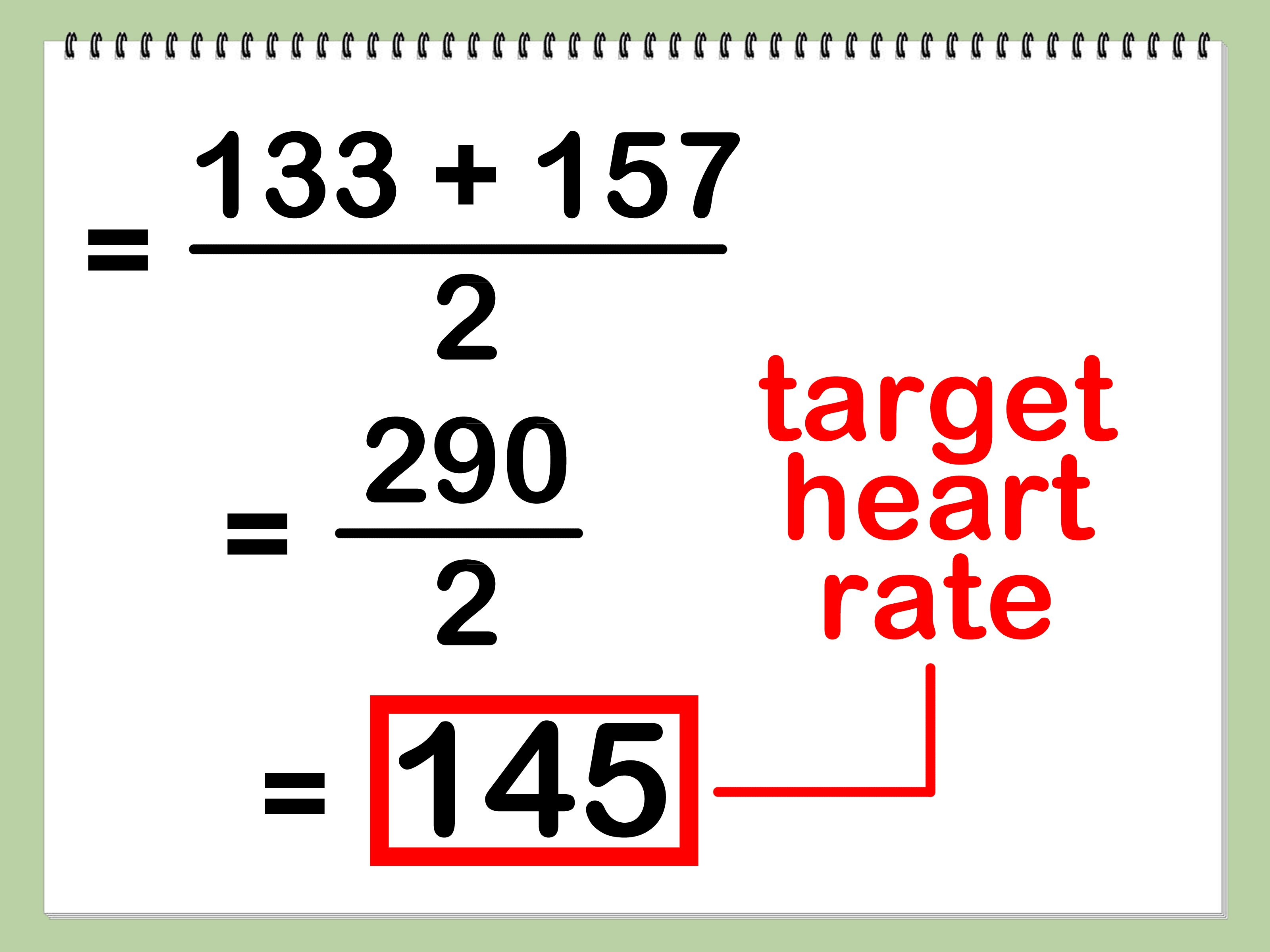 Calculate your target heart rate heart rate target and cardio how to calculate your target heart rate via wikihow geenschuldenfo Image collections