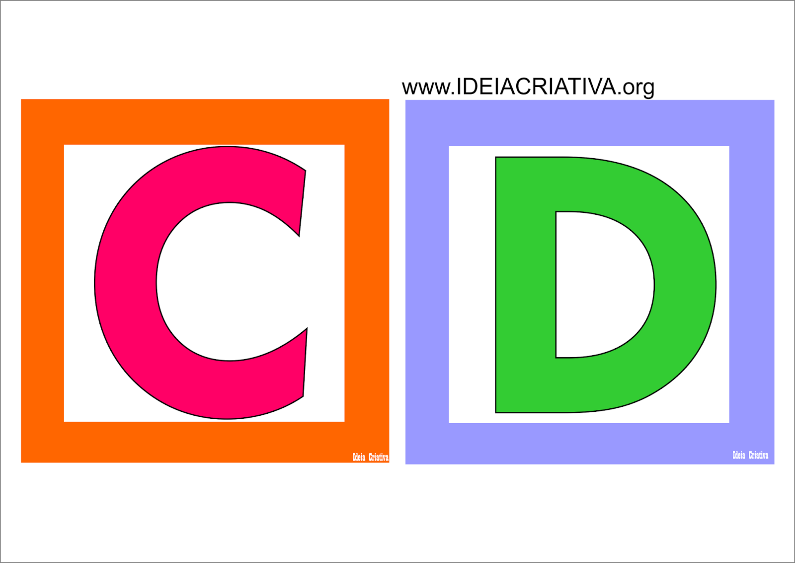 Alfabeto Quadradinho Colorido Para Imprimir Gratis Atividades