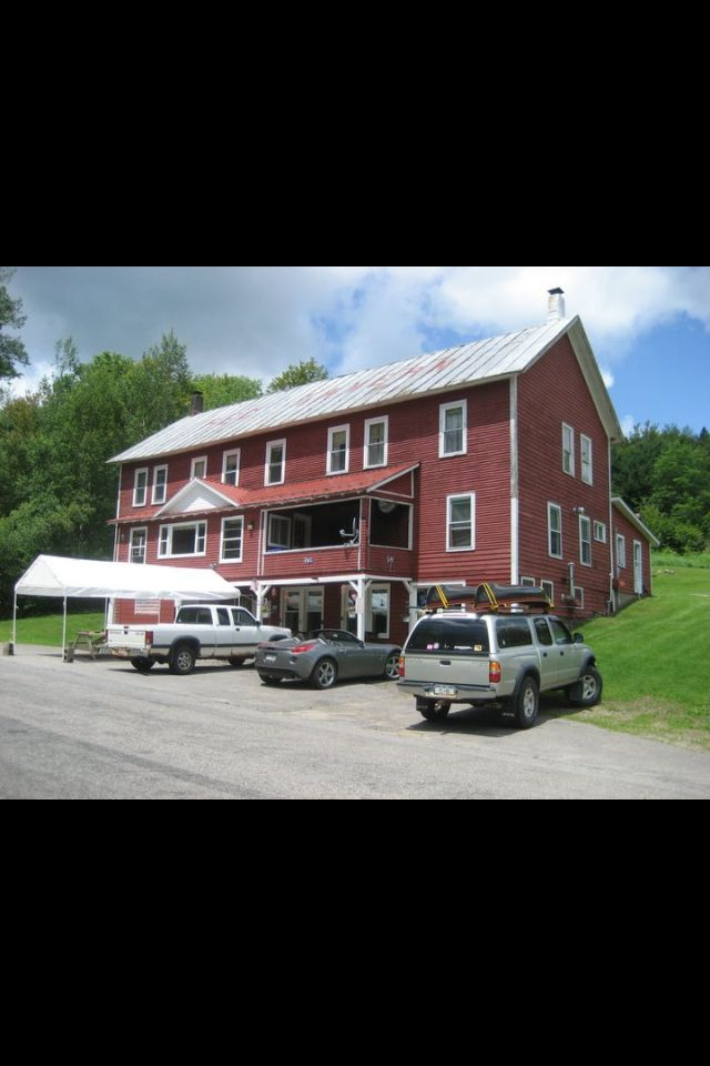 Red Tavern, just down the road from our camp in Duane, N.Y.