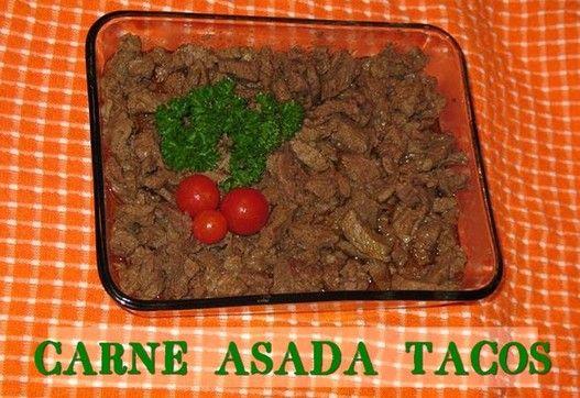 Carne Asada Tacos  http://www.momspantrykitchen.com/carne-asada-tacos.html