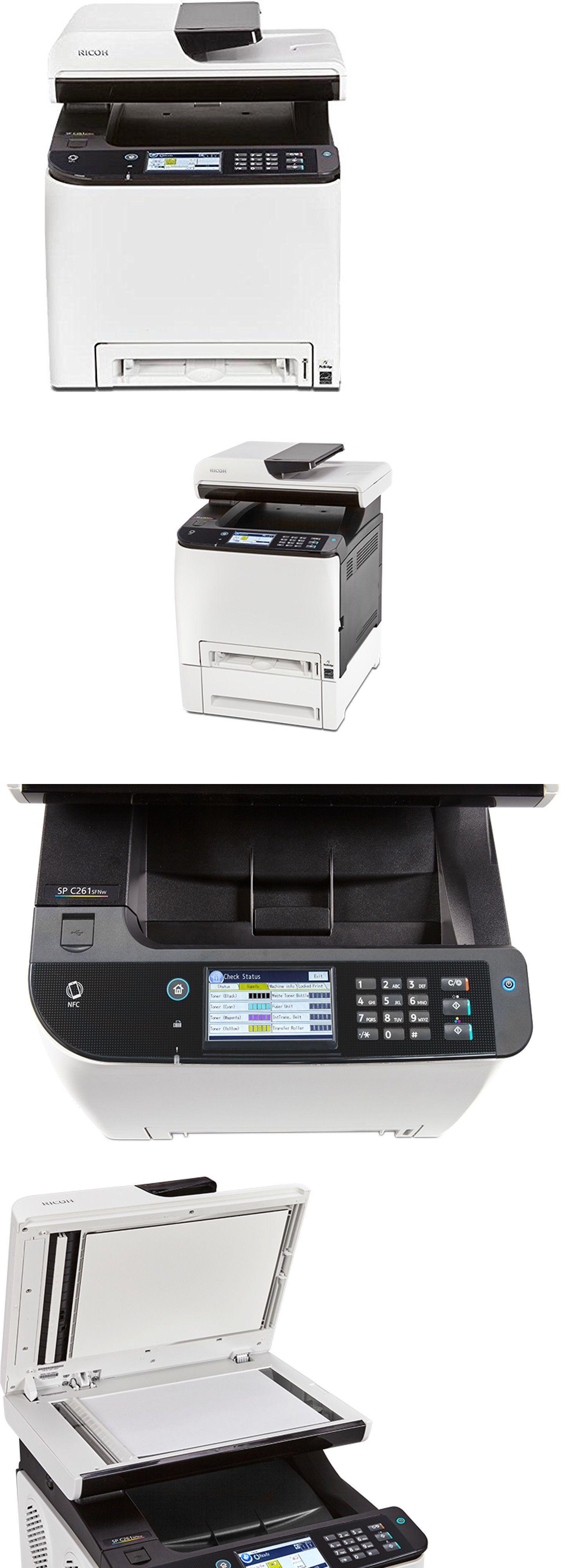 Printers 1245 Ricoh Sp C261sfnw AllInOne Color Laser