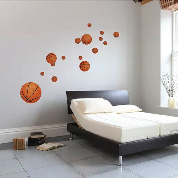 Basketball Wall Decals Boyu0027s Room Basketball Wall By PrimeDecal Part 73
