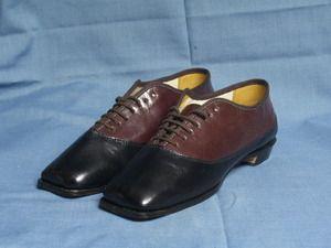 Robert Land reproduction lady's 1860s shoes, Civil War era fashion