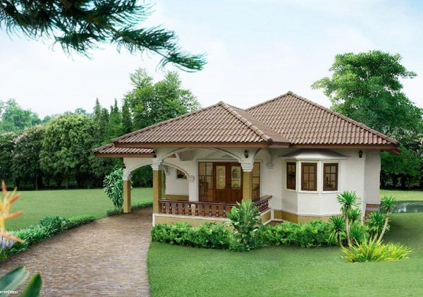 Two Bedroom House Design Pictures Simple Single Story Two Bedroom House Plan Total Living Space144 Square Review