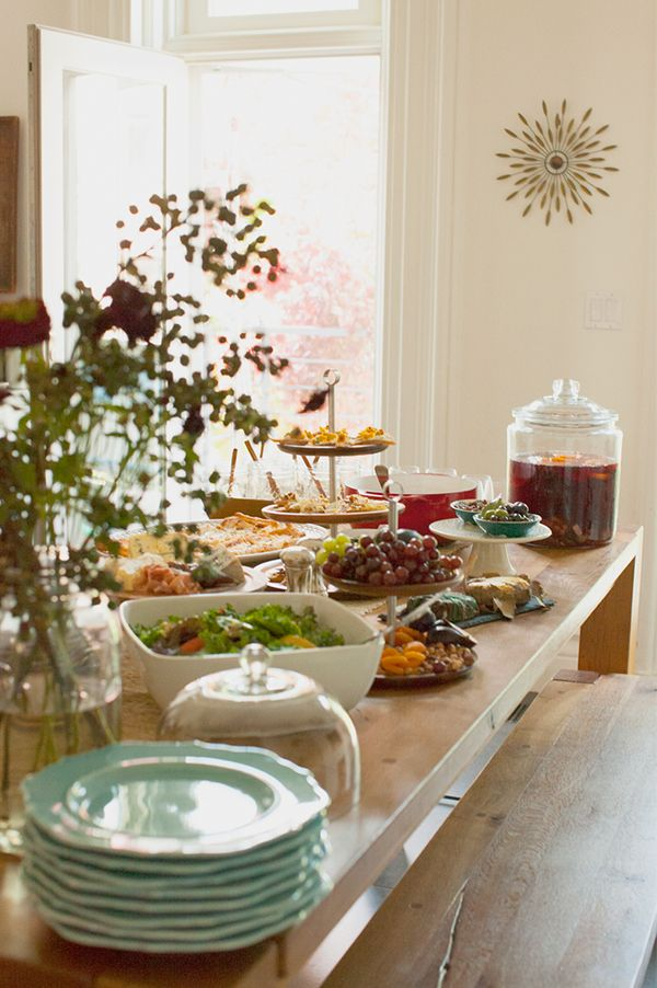 Create An Alluring Buffet By Serving Dishes At Varying Heights