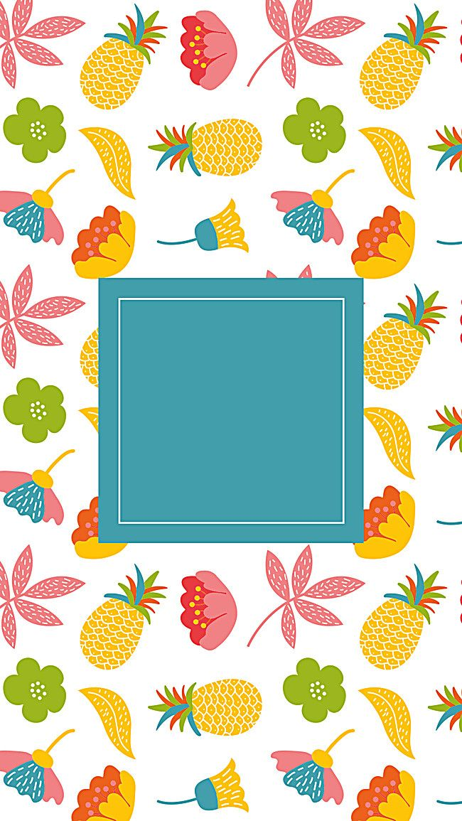 Design Flower Floral Card Background Fruit Wallpaper Floral Cards Doodle Illustration
