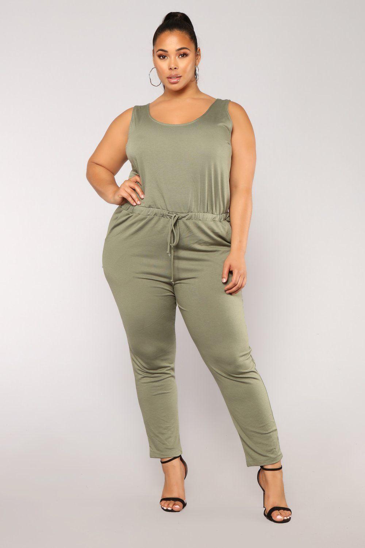 12194404e45 Sammy Lounge Jumpsuit - Dark Green