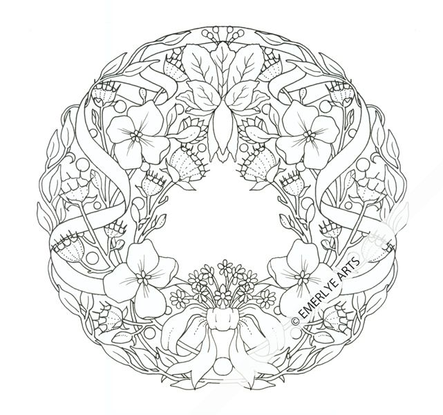 Cynthia Emerlye Vermont Artist And Life Coach Dogwood Coloring Page