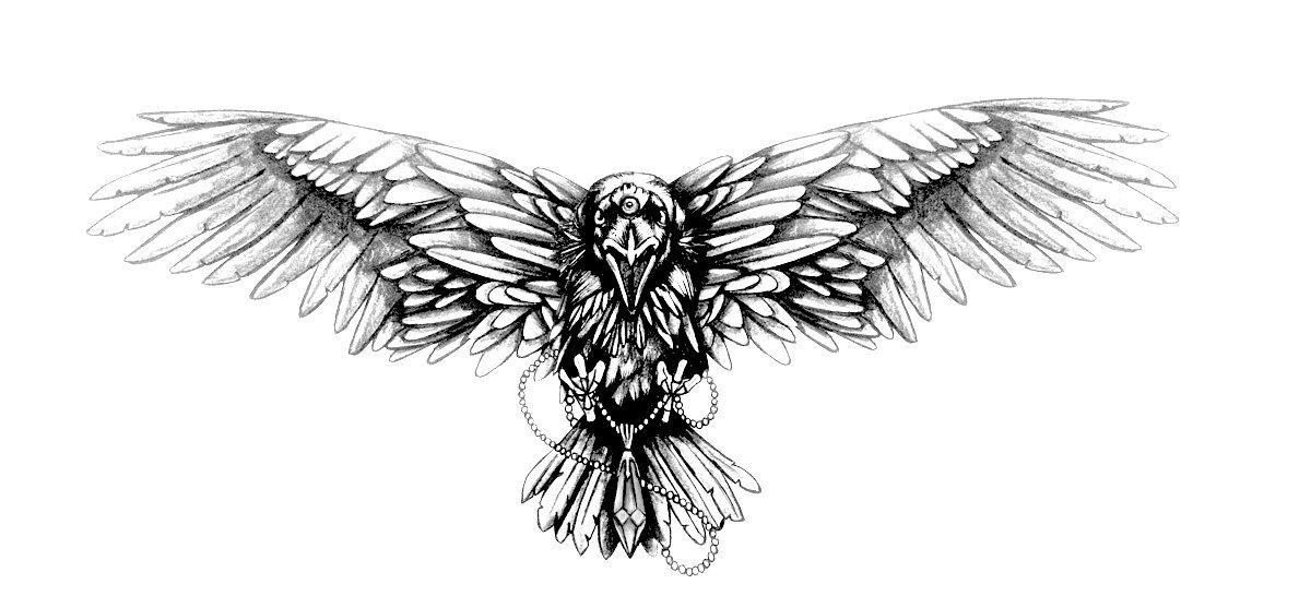 Trois yeux tatouage Corbeau Game of Thrones par ...  Trois yeux tato...
