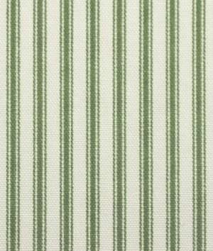 Bought This Green Ticking Stripe To Make Cafe Curtains For The Kitchen