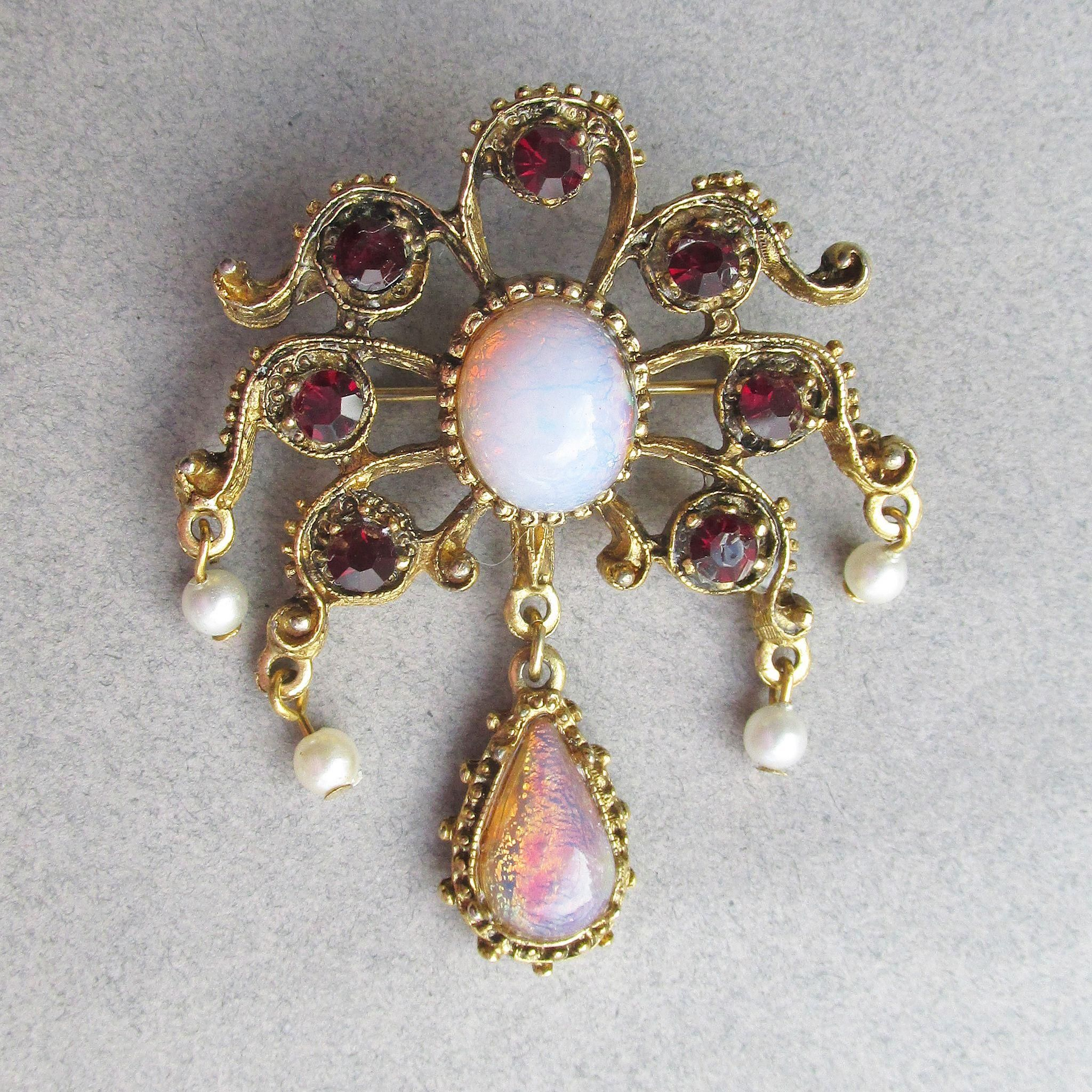 opal opals with diamond products collections charms australian pearls centered off