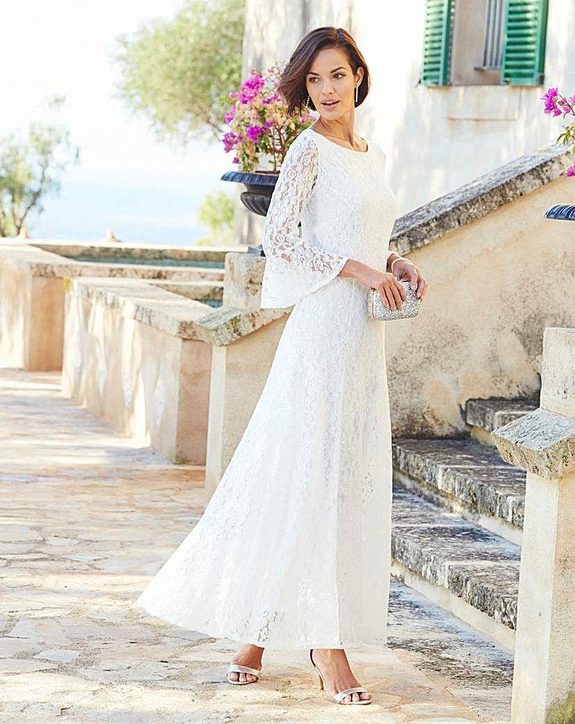 e01bf64cee Joanna Hope Lace Maxi Dress | Products | Dresses, Bridal lace ...