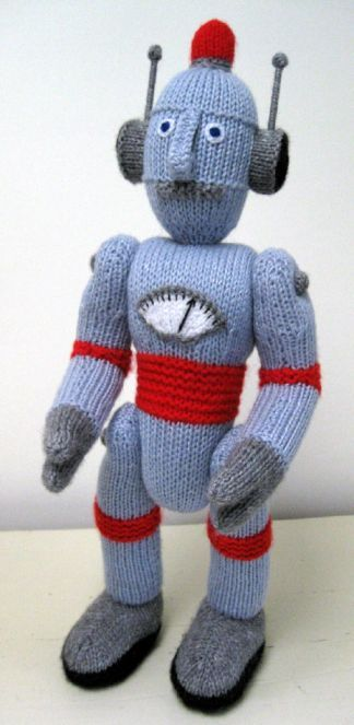 Alan Dart Robot Need To Yarn Pinterest Jack O