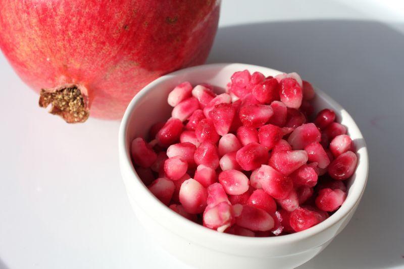 Frozen pomegranate seeds pomegranate
