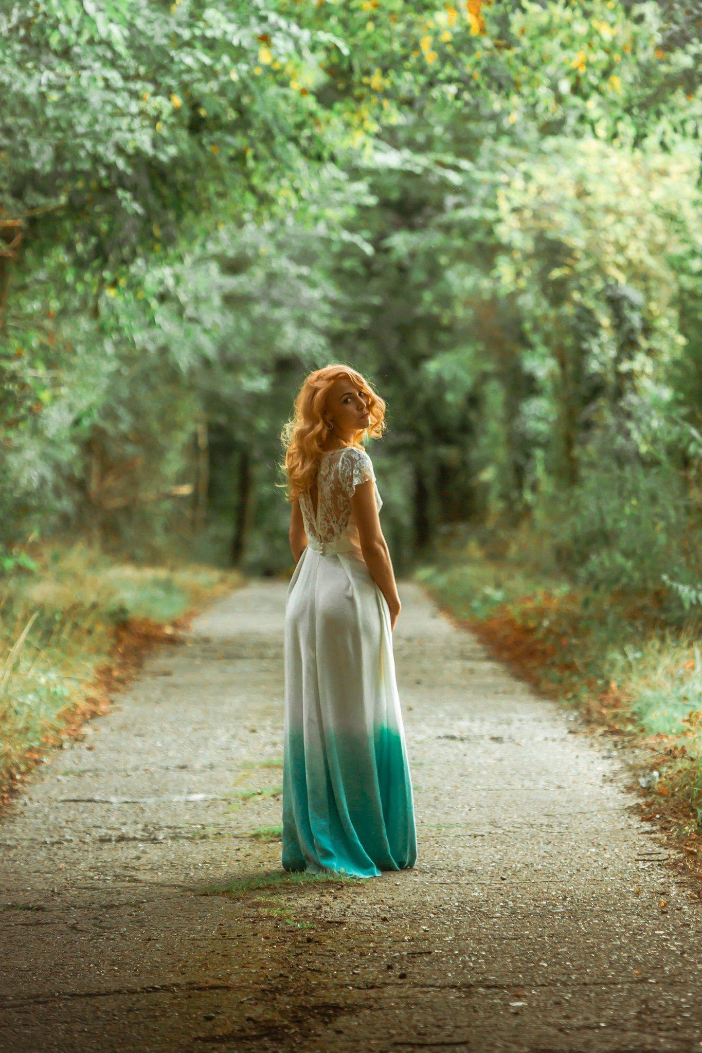 Abiti da sposa di design wedding dresses pinterest dip dye