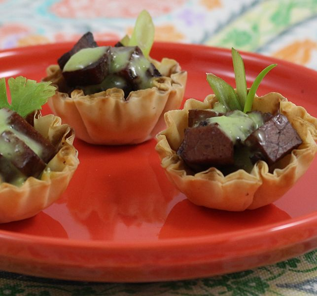 Athens Foods Teriyaki Beef Wasabi Mini Shells are the perfect party finger foods that will leave your guests begging for more.