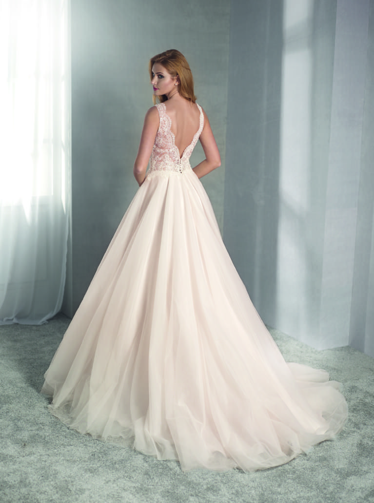 Brautkleid Vintage in Blush 13 - Fara Sposa  Brautmode, Kleid