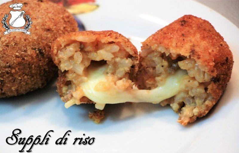 Suppli ricetta ricetta cucina e hamburger for Carne tipica romana
