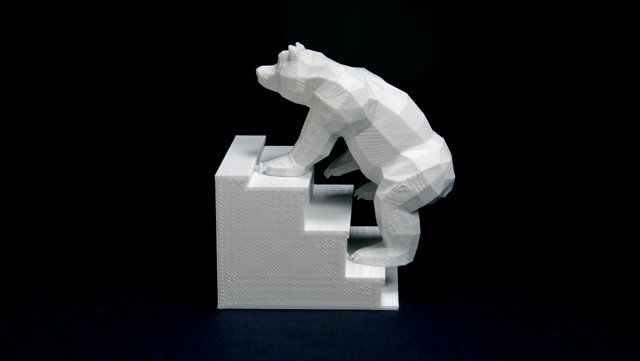 Fun D Printed Bears On Stairs Stop Motion Animation Http - 3d printed stop motion animation bear stairs