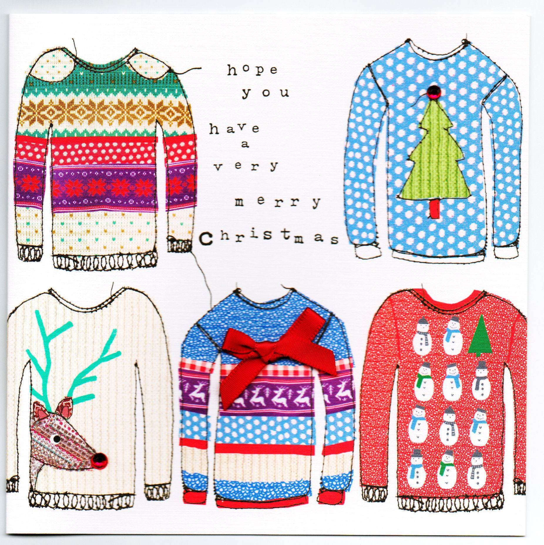 Christmas Jumper Illustrations Google Search Christmas Card