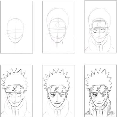 Dessiner Naruto En 2019 Dessin Naruto Dessin Et Dessins
