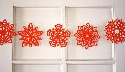 Fiocchi Di Neve Di Carta Facili : Fiocchi di neve di carta christmas natale fiocchi