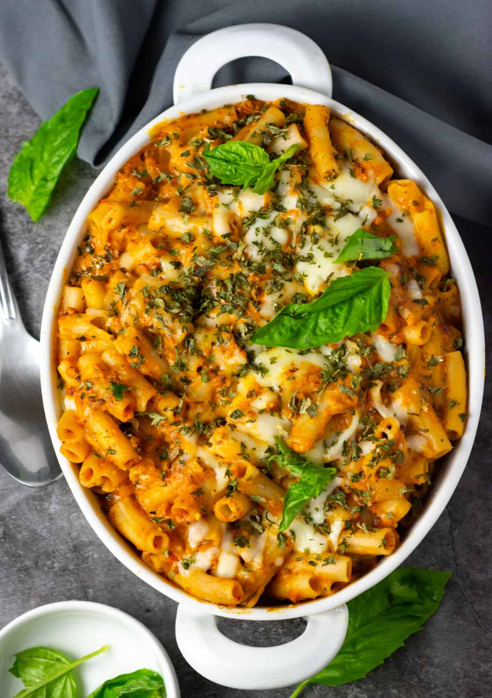 Enjoy My Vegan Baked Ziti Recipe It Is Easy To Prepare Perfect Weeknight Dinner Oven Baked Pasta With Marina In 2020 Vegan Baked Ziti Recipe Ziti Recipes Baked Ziti