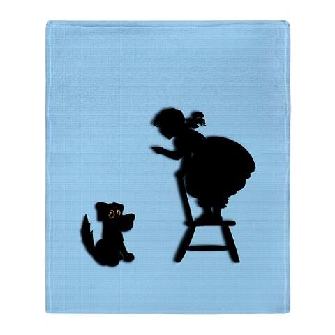 Cute Bad Dog Throw Blanket   CafePress has the best selection of custom t-shirts, personalized gifts, posters , art, mugs, and much more.
