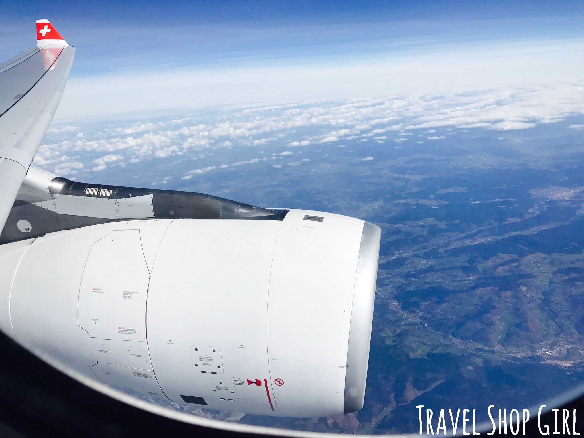 Swiss Air Business Class Review Boston to Zurich