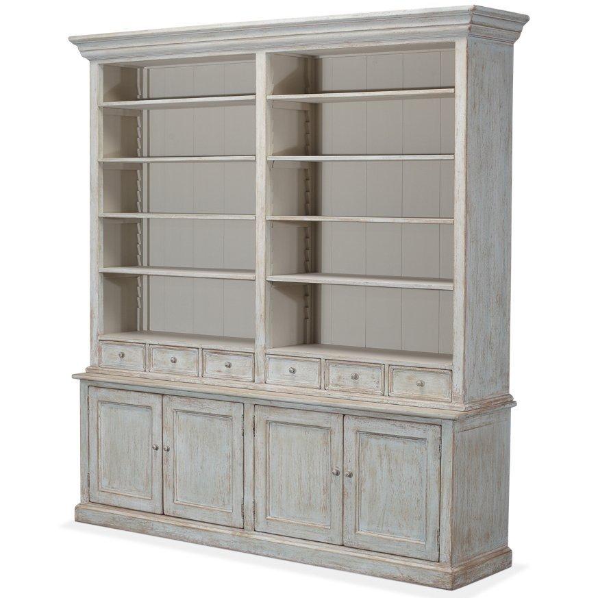Fantastic Amelia Blue Shabby Chic Bookcase Bunny Savona Furniture In Download Free Architecture Designs Embacsunscenecom
