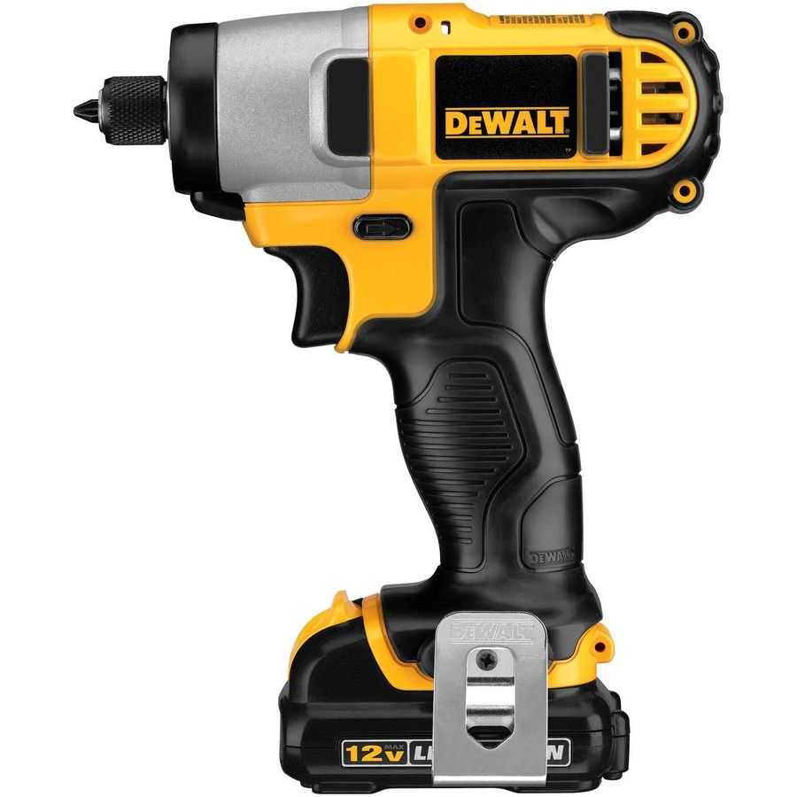 Dewalt 12 Volt Max Variable Speed Cordless Impact Driver 2 Battery Lowes Com Drill Dewalt Drill Dewalt