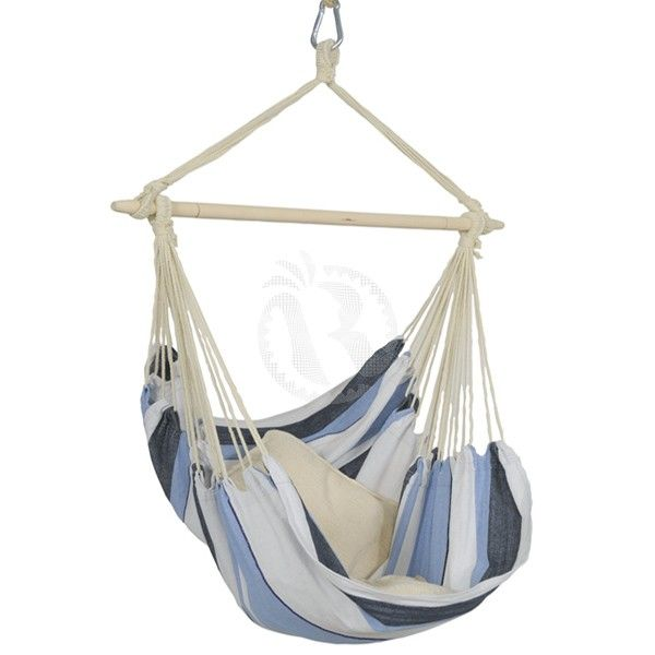 the havanna marine outdoorindoor hammock hanging chair has a combination of bright colours with a cuddly soft thread that is still sturdy due to its - Indoor Hanging Chair