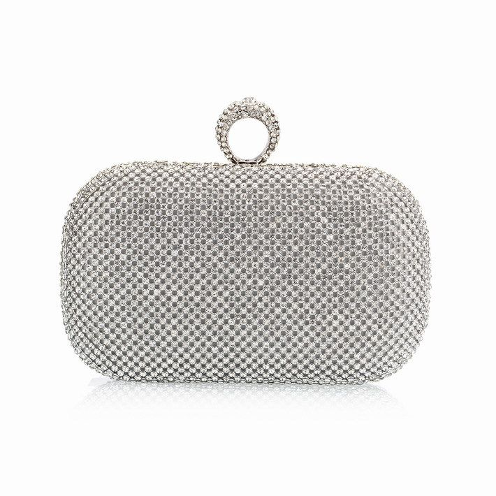 9c431c4e34315 (You Sure Love ) Super Luxury Popular Women Full Diamond Finger Ring  Evening Bags Clutch Purse/Bling BagGold/Silver/Black NO1240 - HandBagList