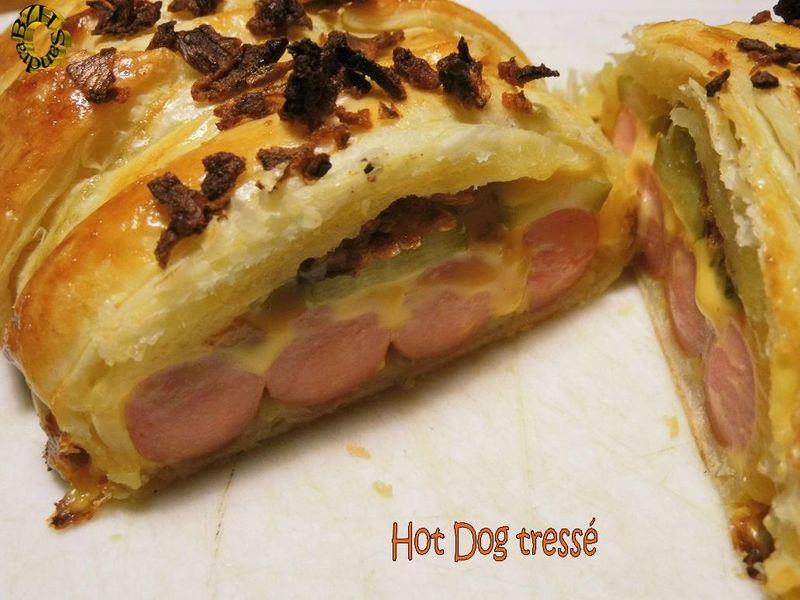 Hot dog tressé