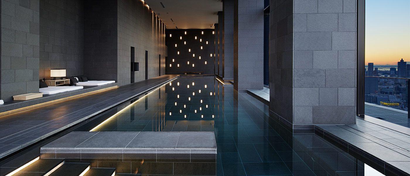 Aman Tokyo Spa  Wellness  Japanese Baths  Luxury Spa  Aman  Spa design  Tokyo hotels
