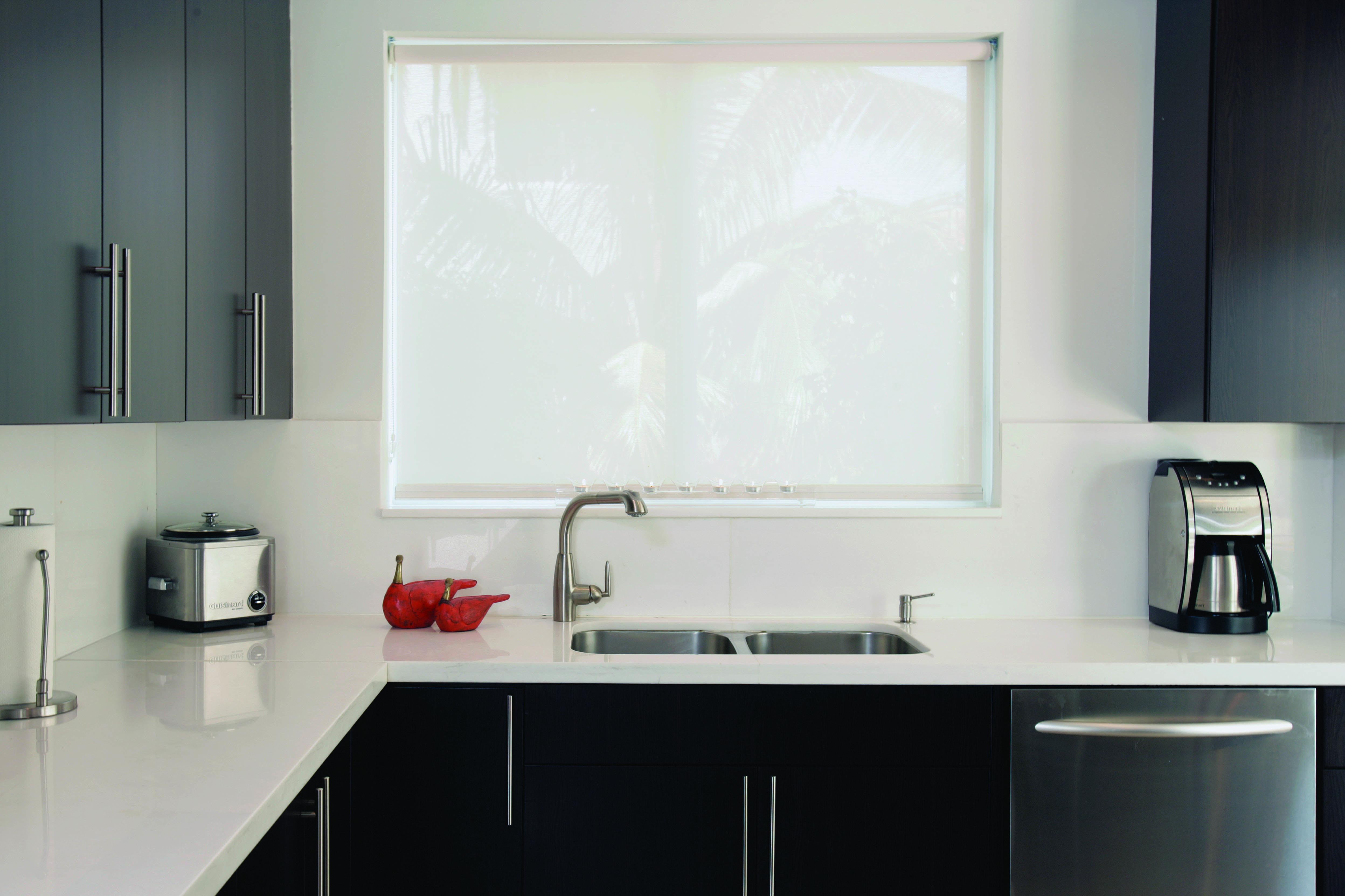 Cortina roller screen para cocinas modernas fotografia - Cortinas screen cocina ...
