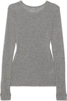 The Elder Statesman Uni ribbed cashmere sweater