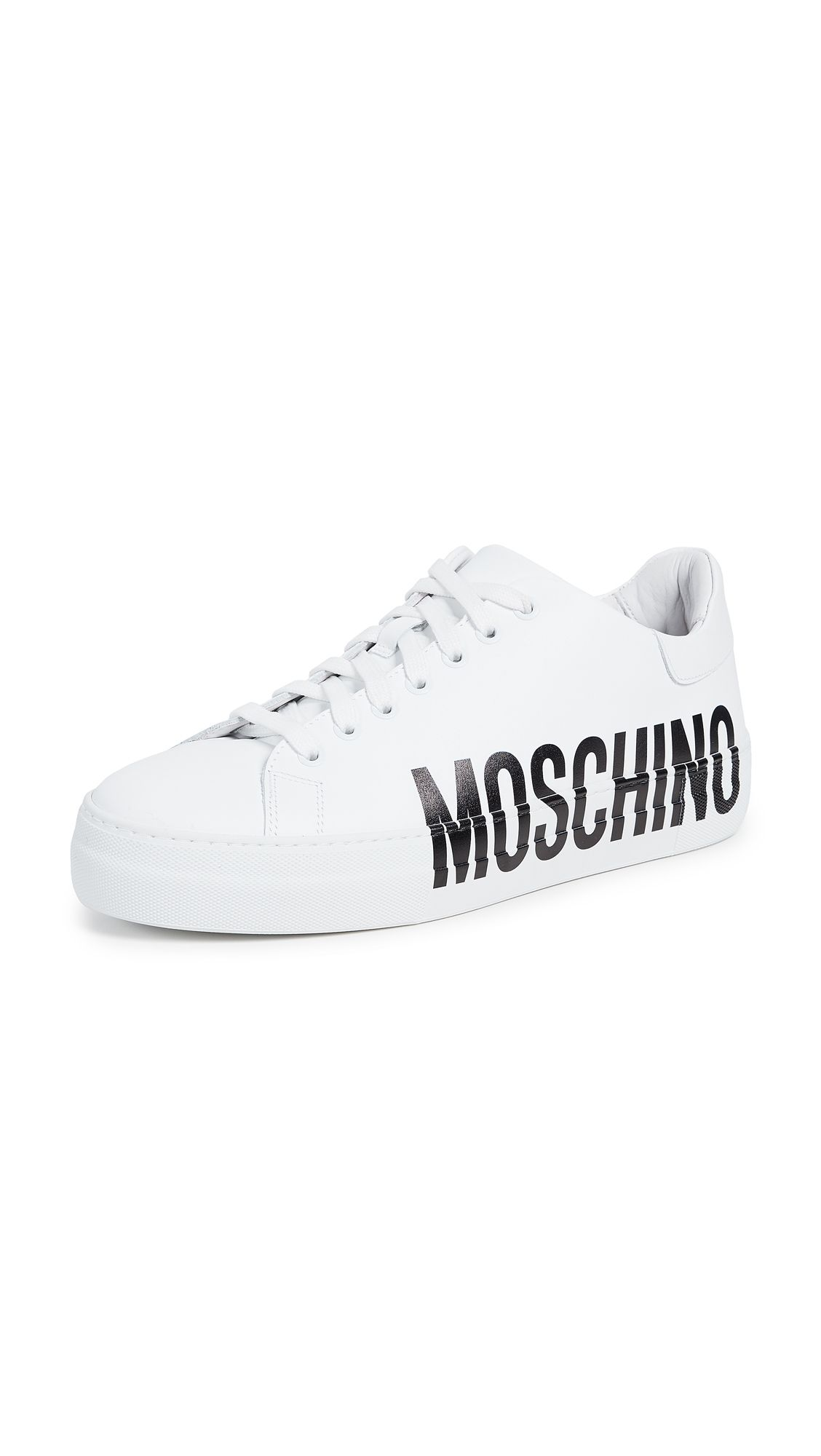 LOGO SNEAKERS. #moschino #shoes