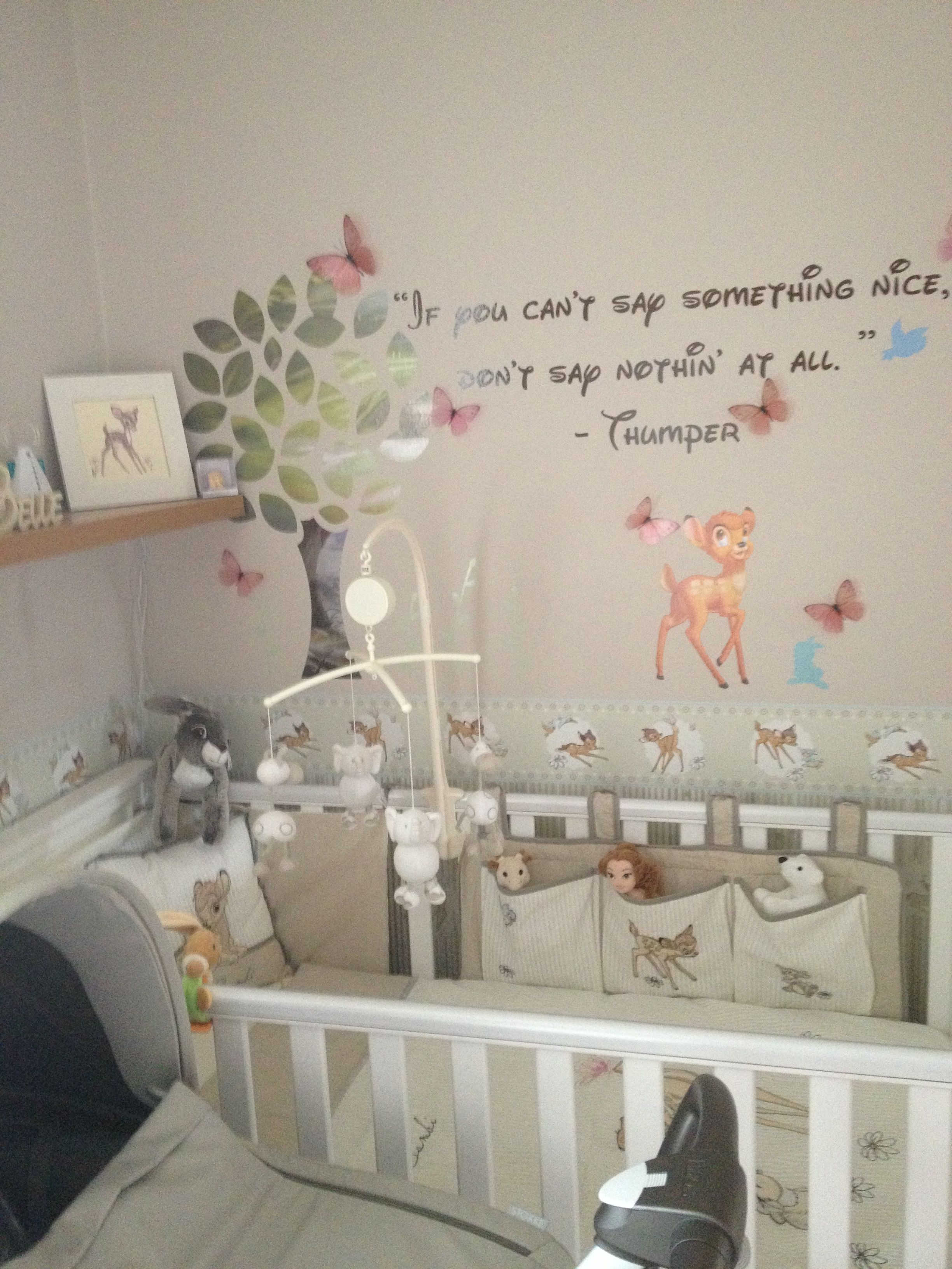 Baby Themed Bedroom Ideas: My Bambi Themed Nursery Pic 2