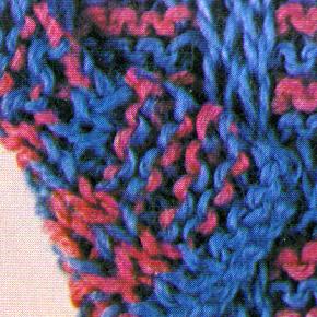 Zweiseitig zu tragende Strickarbeiten  Zweiseitig zu tragende Strickarbeiten eignen sich besonders gut für offen hängende Mäntel und Jacken mit umgeschlagenen Kragen  http://www.handarbeitszirkel.de/zweiseitig-zu-tragende-strickarbeiten/