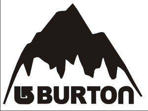 Amazon Com Burton Mountain Vinyl Decal Sticker White Home