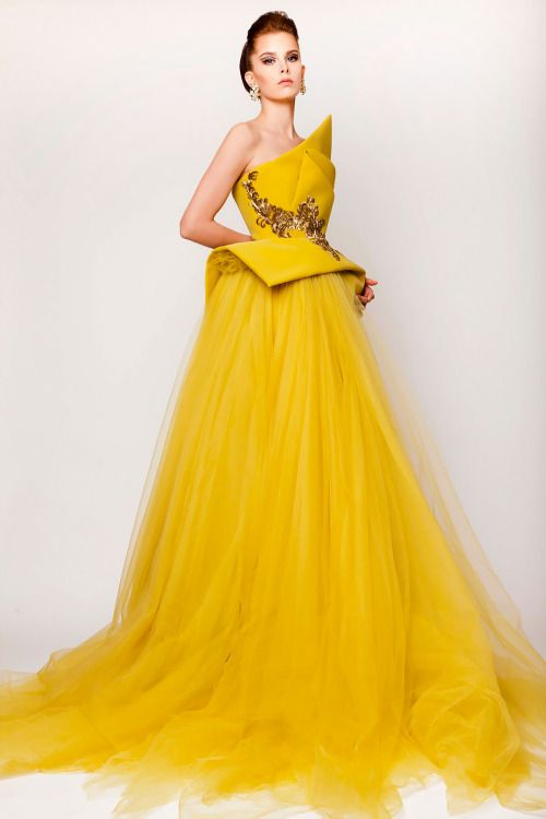 Azzi and  Osta Couture Spring 2015